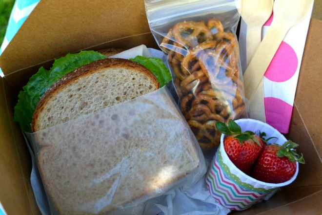 Spring Food Lunch Box