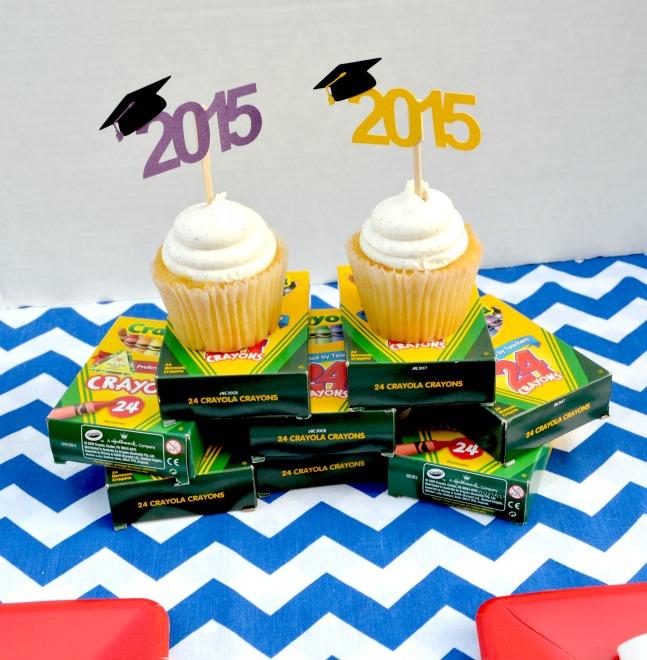 Kindergarten Graduation cupcakes