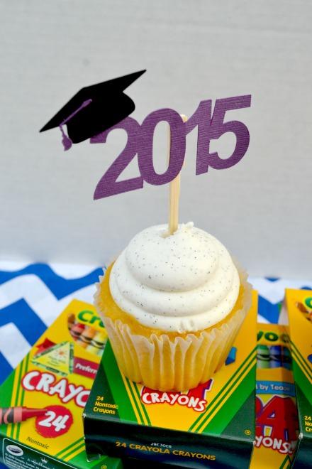 Kindergarten Graduation cupcake topper