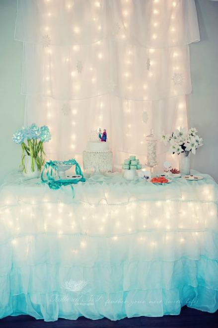 Glittery Frozen Party