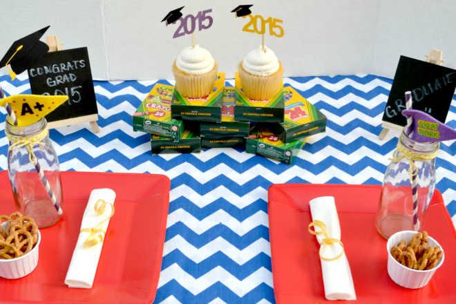 Kindergarten Graduation Party Table
