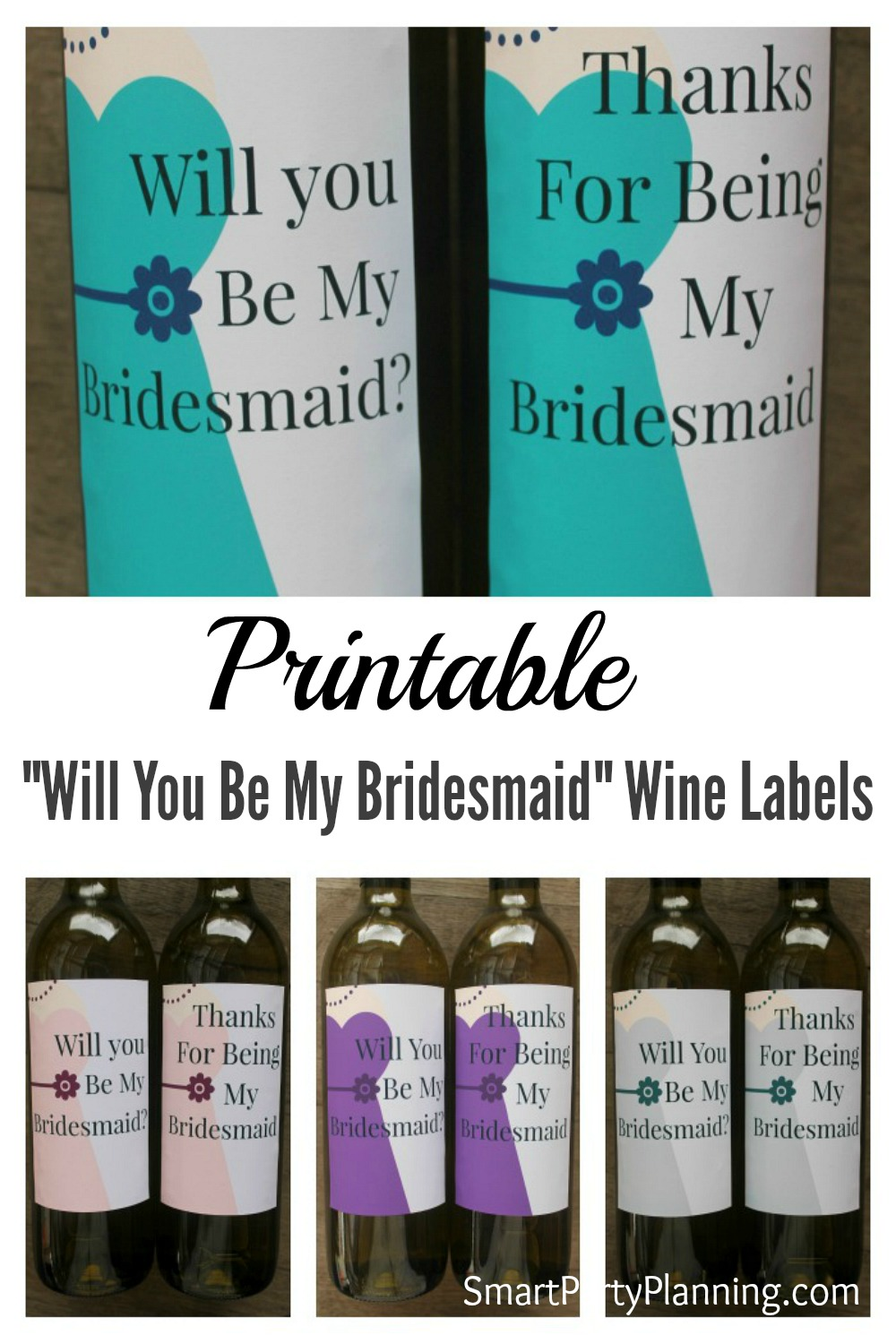 Will You Be My Bridesmaid Wine Labels Lektoninfo - Bridesmaid wine label template