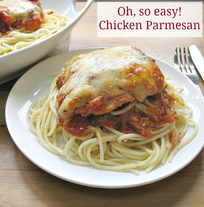 Oh, So Easy Chicken Parmesan