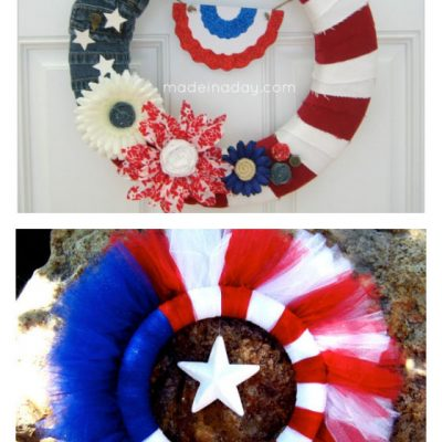 The Best Easy 4th of July Wreath Ideas