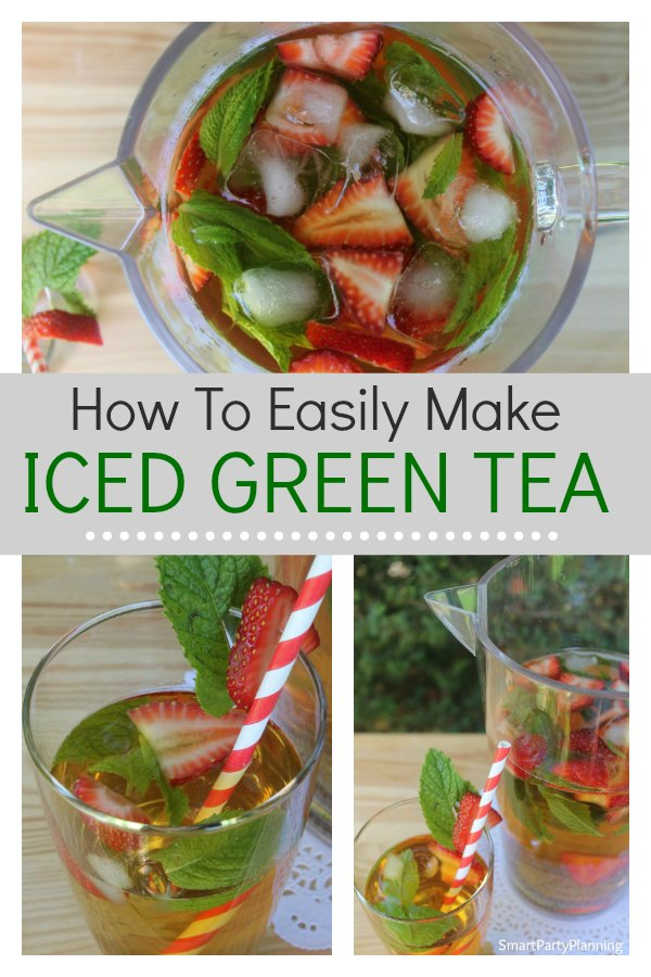 Love a good iced tea recipe? Learn how to make the most refreshing iced green tea you have ever tasted.Look no further for the BEST iced tea recipe, perfectly infused for the most relaxing summer drink. It tastes amazing, it's healthy and it's a recipe that you can easily replicate at home. This is a recipe you will LOVE.