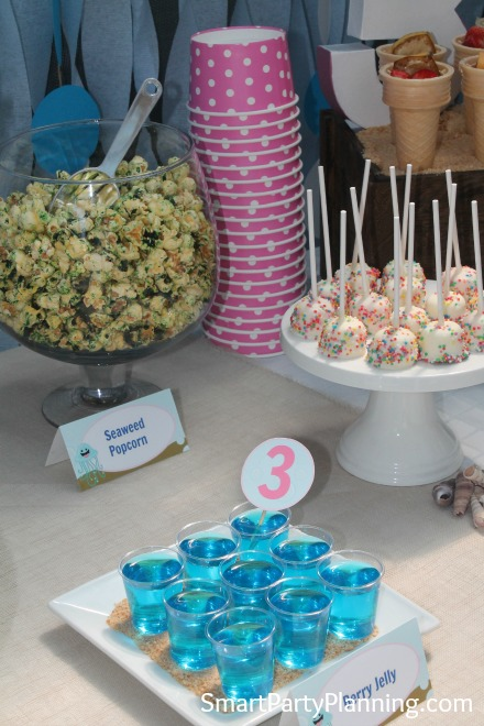 Jelly and Seaweed Popcorn