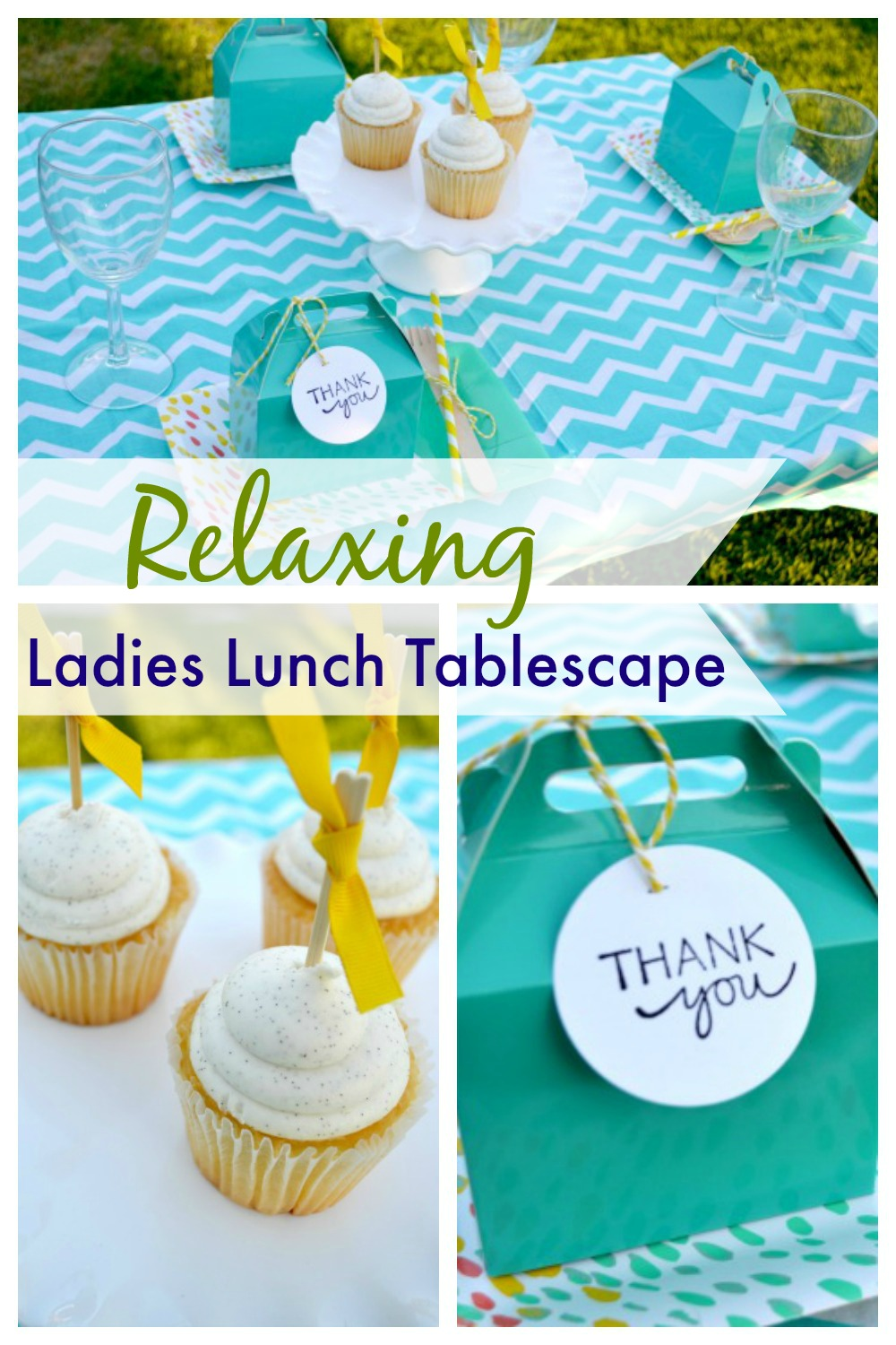 Ladies Lunch Tablescape