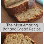 The most amazing easy banana bread recipe