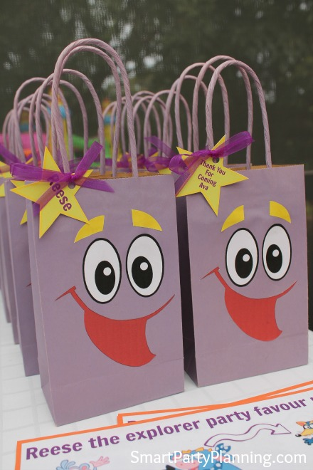 Dora The Explorer party which is fun, vibrant and entertaining for the kids. It's easy to have an adventure with this themed party.