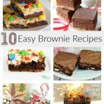 10 Easy Brownie Recipes
