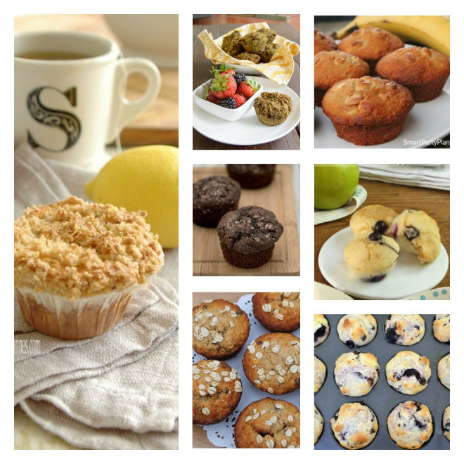 Collection of muffin recipes