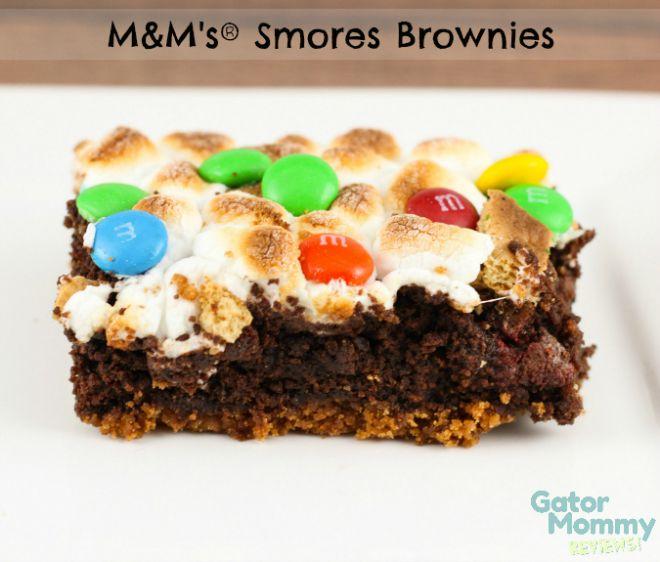 MMs-Smores-Brownies