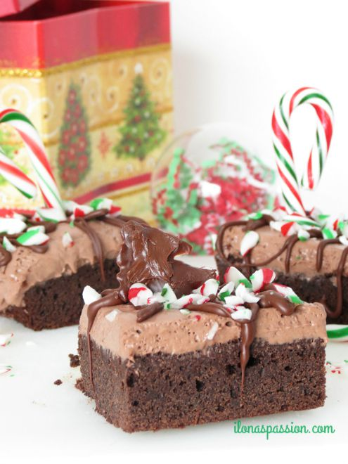 Peppermint-Chocolate-Mouse-Brownies