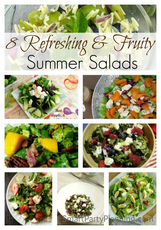 8 Refreshing & Fruity Summer Salads