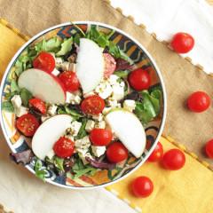 Easy Feta Apple Salad
