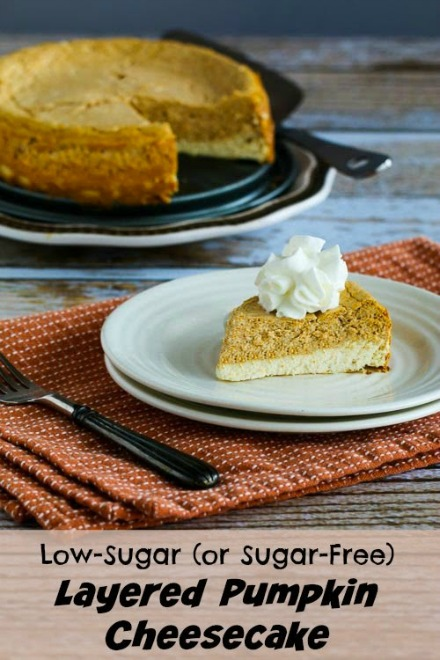 ... Sugar Layered Pumpkin Cheesecake For Thanksgiving Recipes — Dishmaps