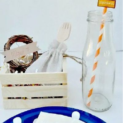 How To Make An Easy Kids Thanksgiving Place Setting