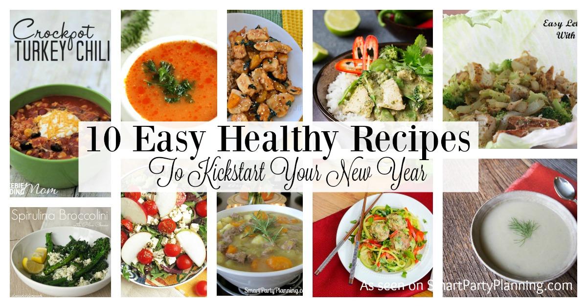 10 Easy healthy recipes