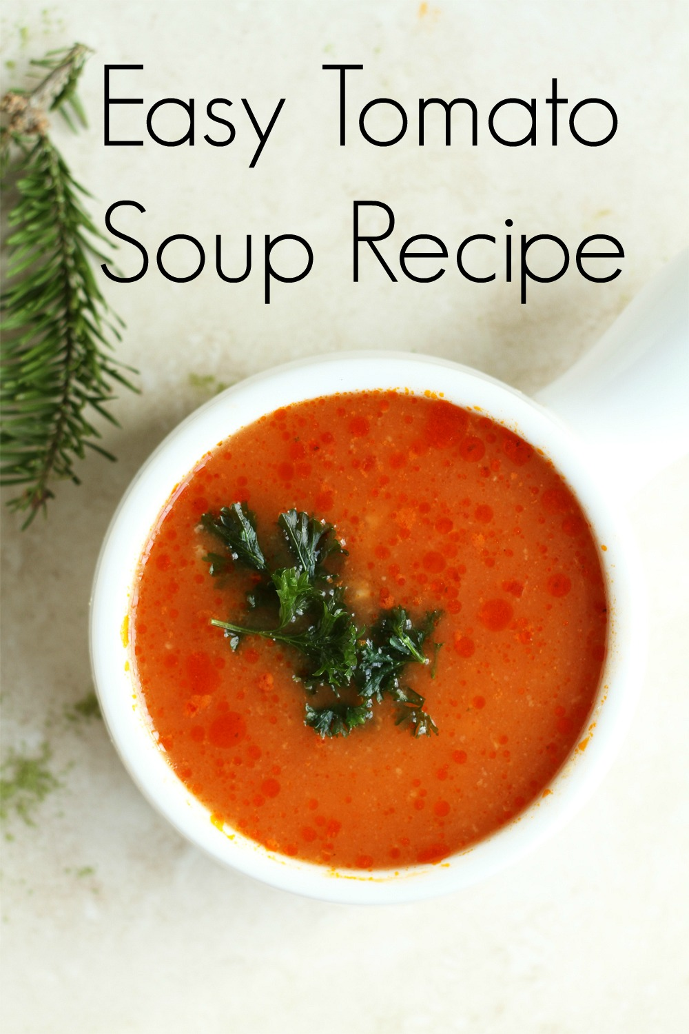 Easy Tomato Soup Recipe | Smart Party Planning