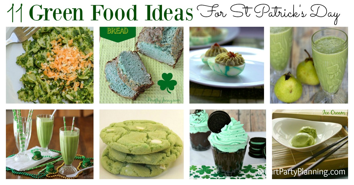 11 Green Food Ideas For St Patrick S Day