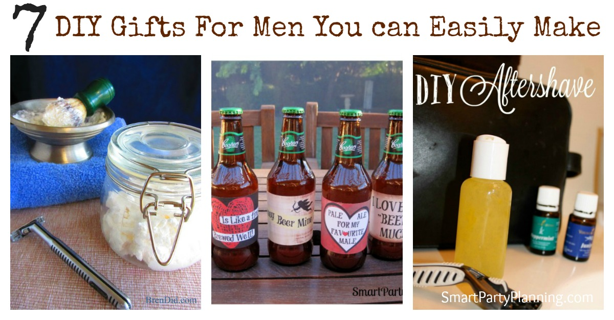 7 Diy Gifts For Men You Can Easily Make
