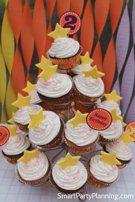 Dora Star Cupcakes