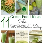 Green food ideas for St Patricks day