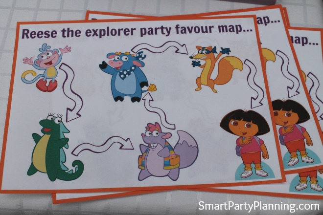 Reese The Explorer Map