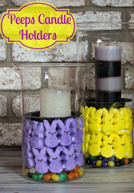 Peeps Candle Holder