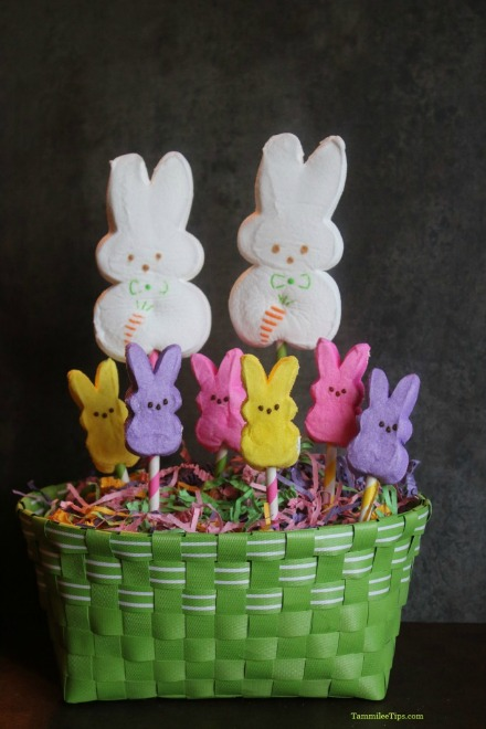 Easter Peeps Centerpiece.