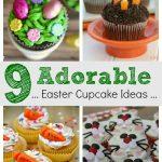 9 adorable Easter cupcake ideas