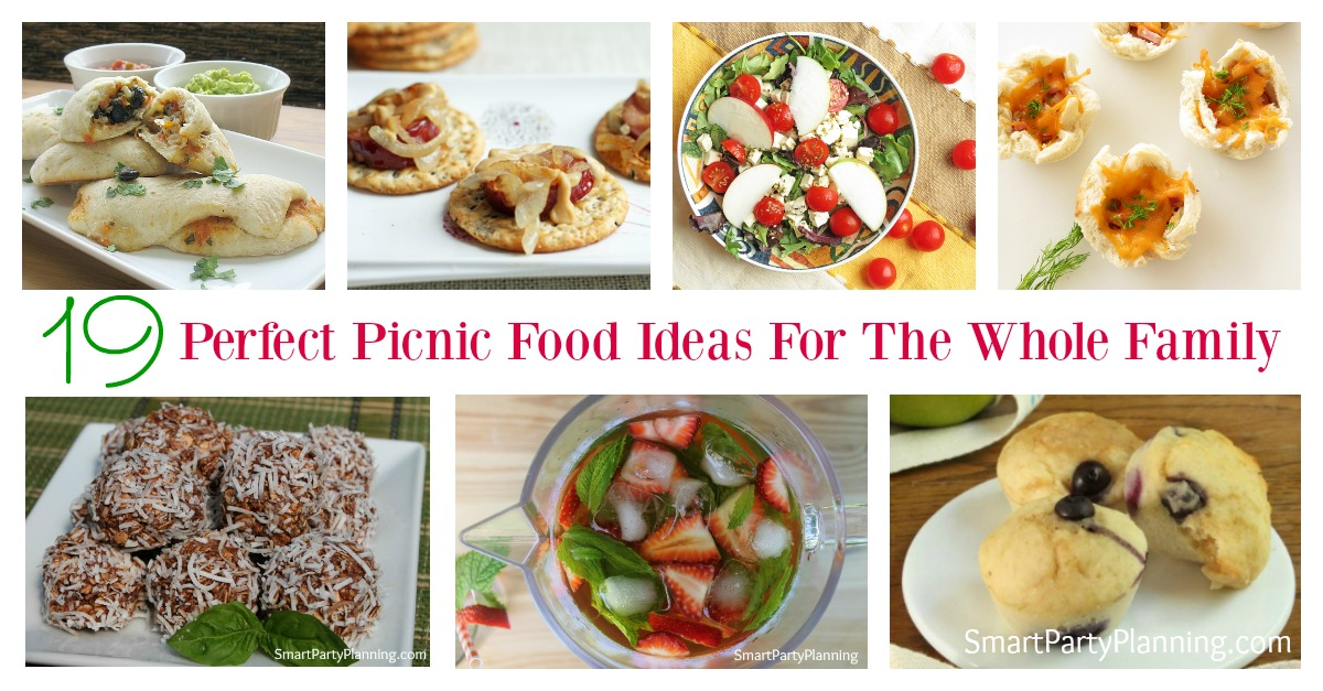 Planning a picnic can be really easy but also really delicious. The perfect picnic food doesn't have to entail fancy cooking and can be food that the entire family will enjoy. With picnic salads, snacks and desserts, there is something in this collection for everyone. You can even trick the kids with #16 thinking that they are having a naughty dessert when really it is super healthy!