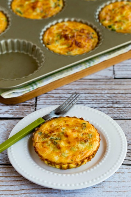 Asparagus & Goats Cheese Tarts