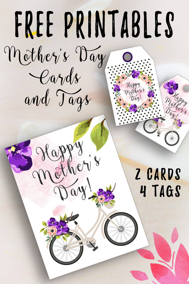 mothers day tags and cards