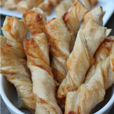 How To Make The Best Puff Pasty Cheese Straws