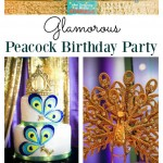 Glamorous Peacock Party