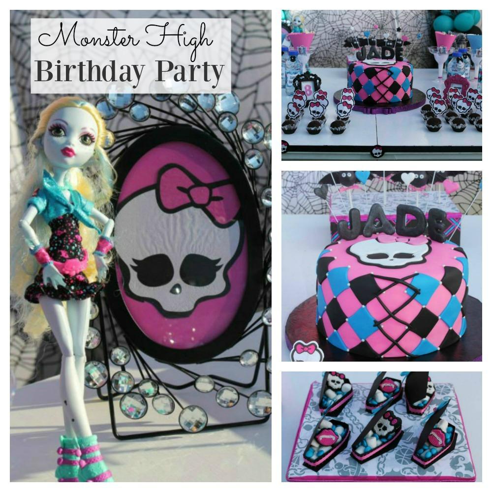 Monster High Birthday Party FB