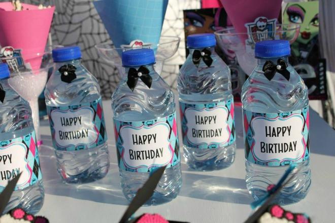 Monster high water bottle