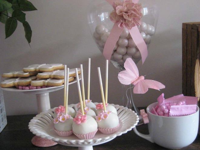 Butterfly desserts