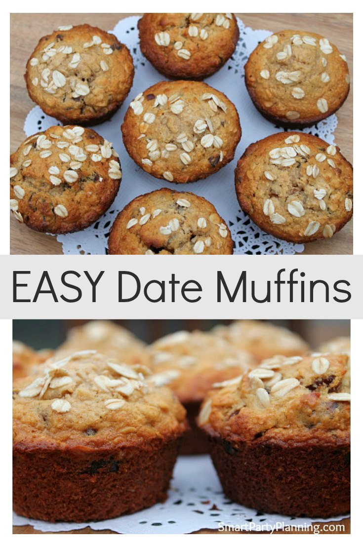 Easy Date Muffins