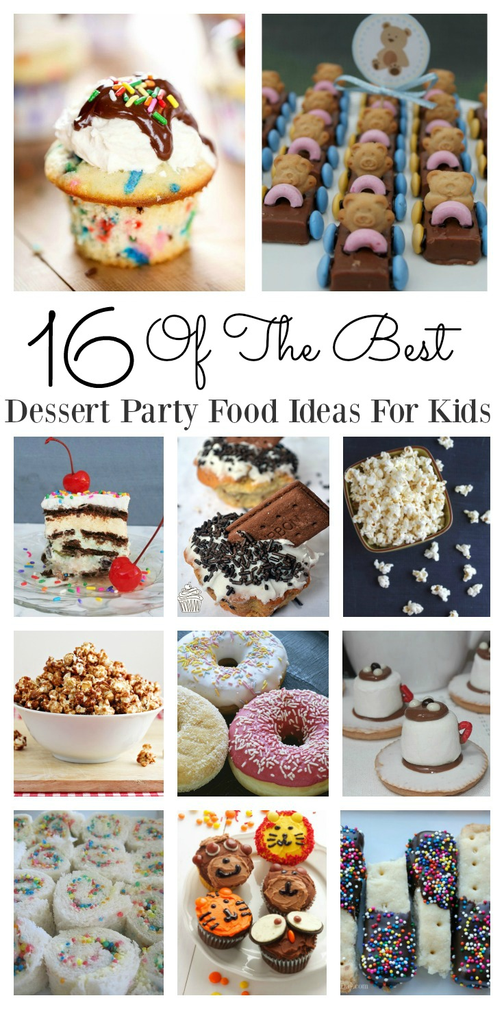 Party food ideas for the kids