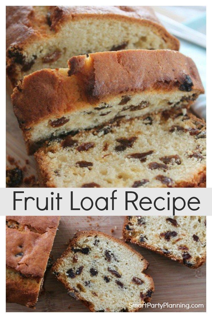 Fruit Loaf Recipe