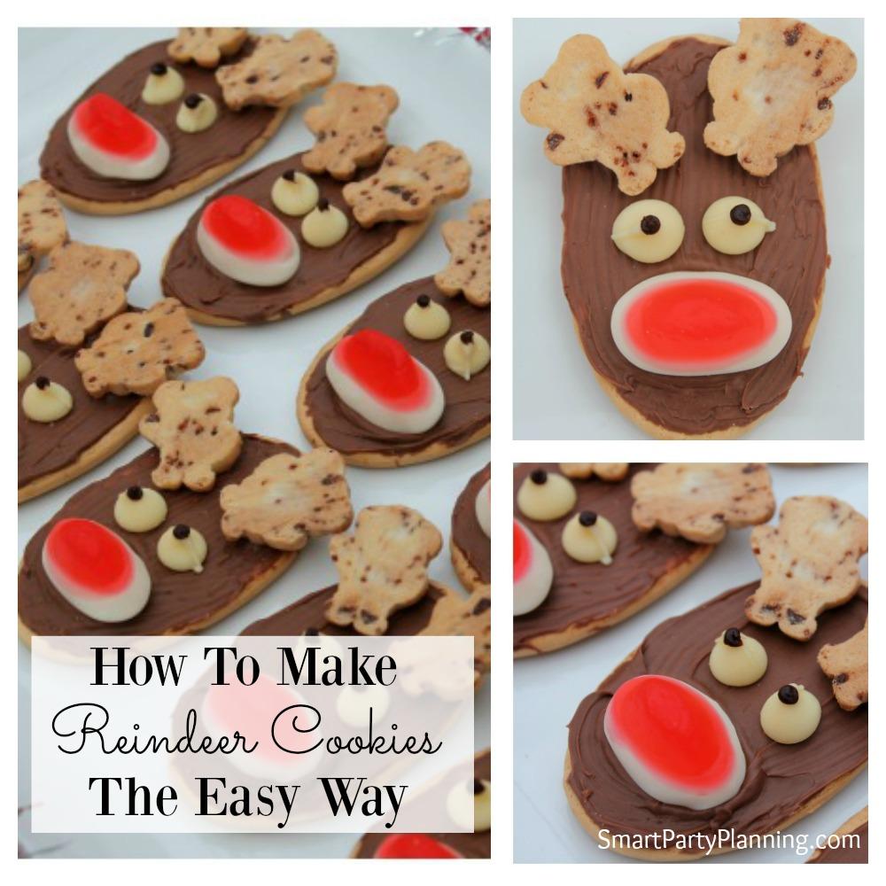 How To Make Christmas Reindeer Cookies
