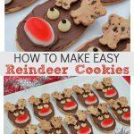 How to make easy reindeer cookies