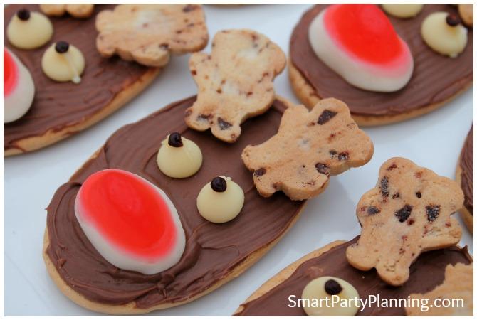 Cute reindeer cookie