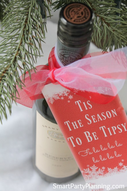 The Best Christmas Wine Tags For Wine Lovers