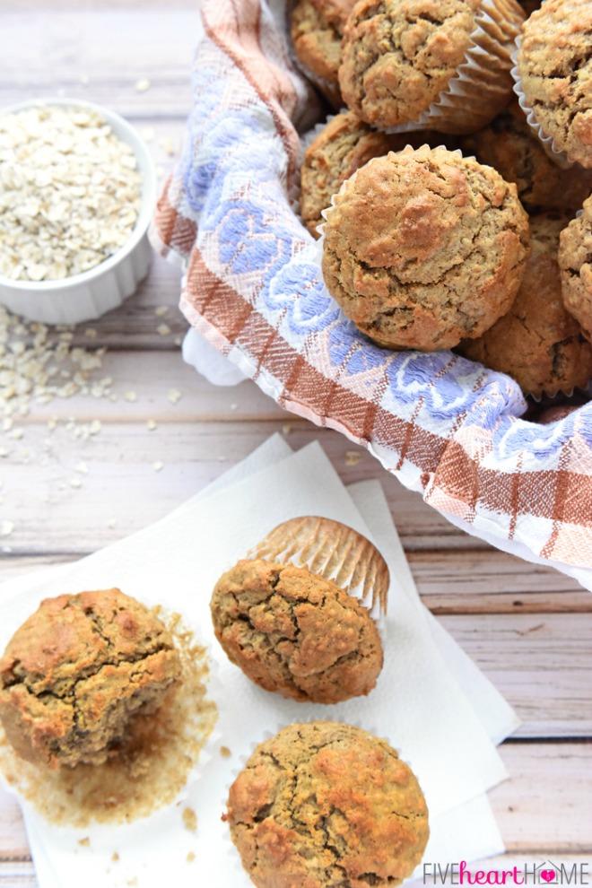 oatmeal-spice-muffins-healthy-breakfast-recipe-by-five-heart-home