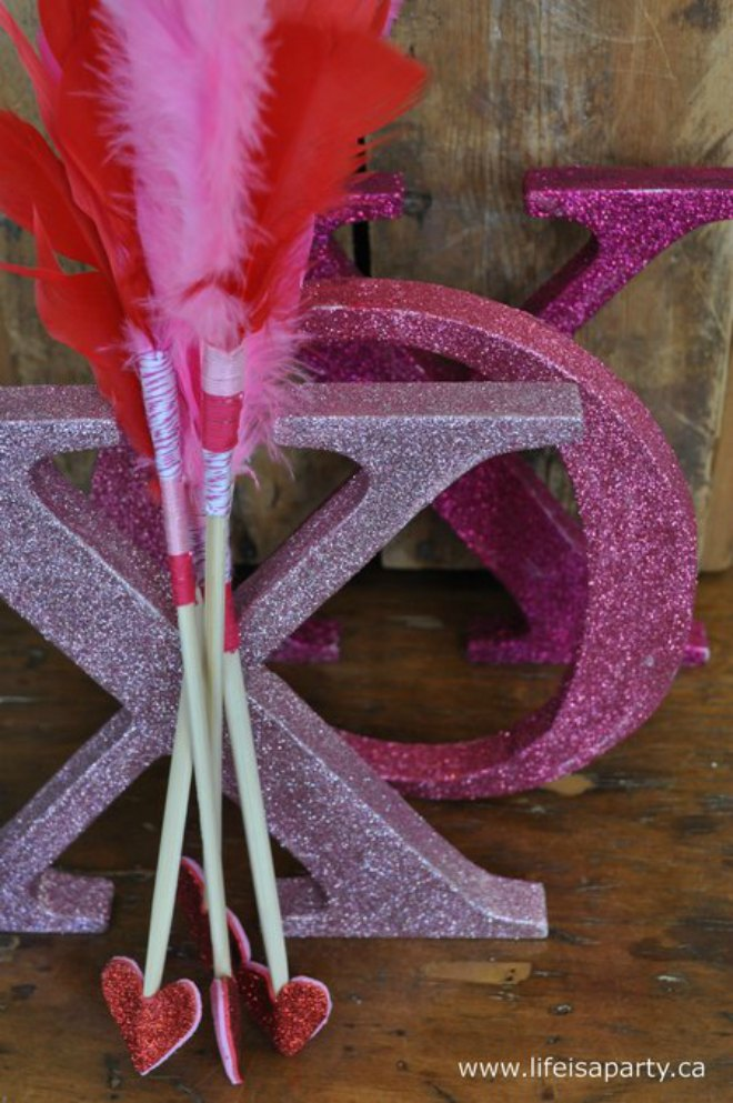 Cupids Arrow Valentines Day