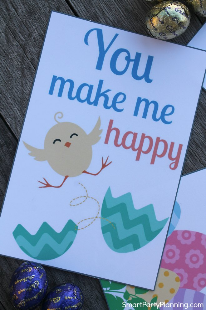 You make me happy lunch box notes