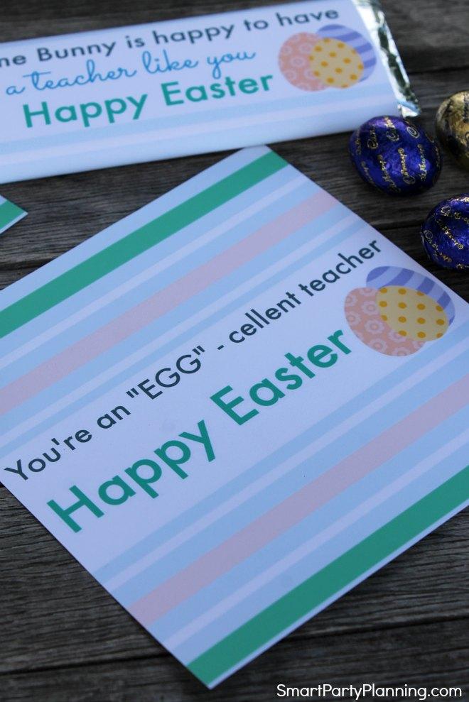 You're an eggcellent teacher printable